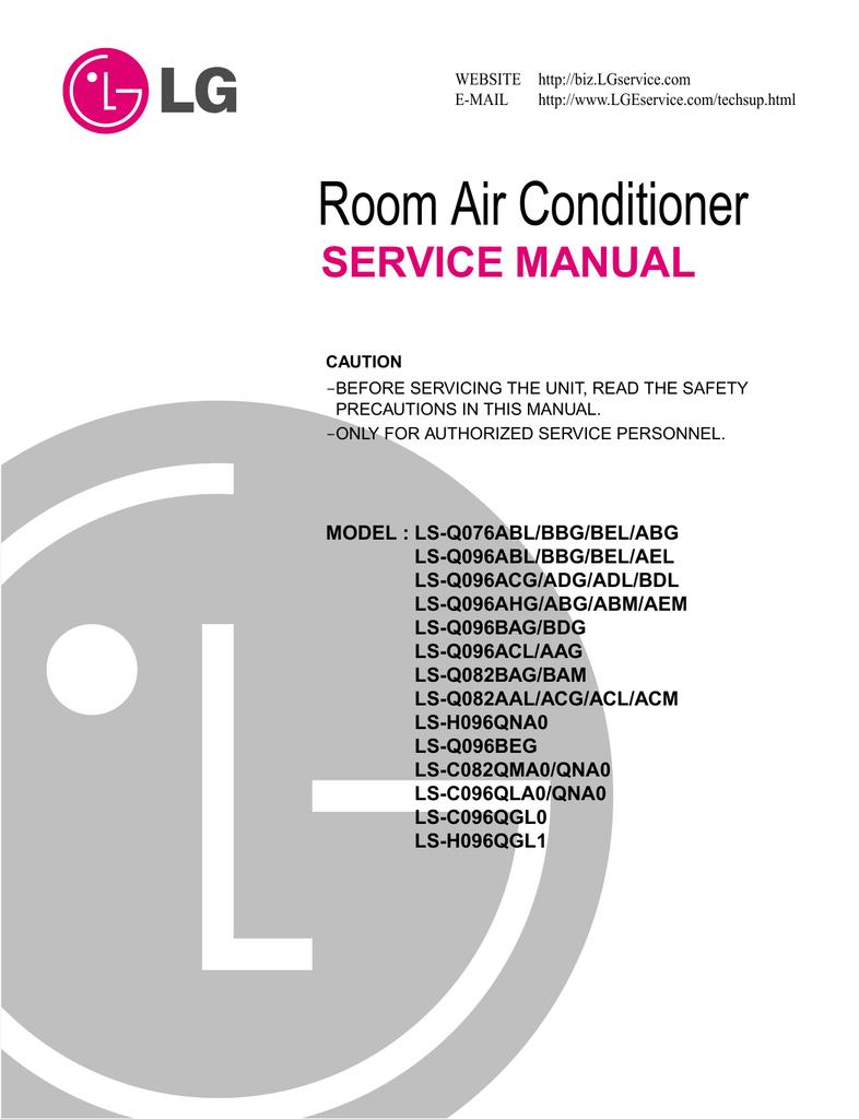 lg mini split wiring diagram lg electronics ls q076bbg air conditioner user manual manualzz  air conditioner user manual