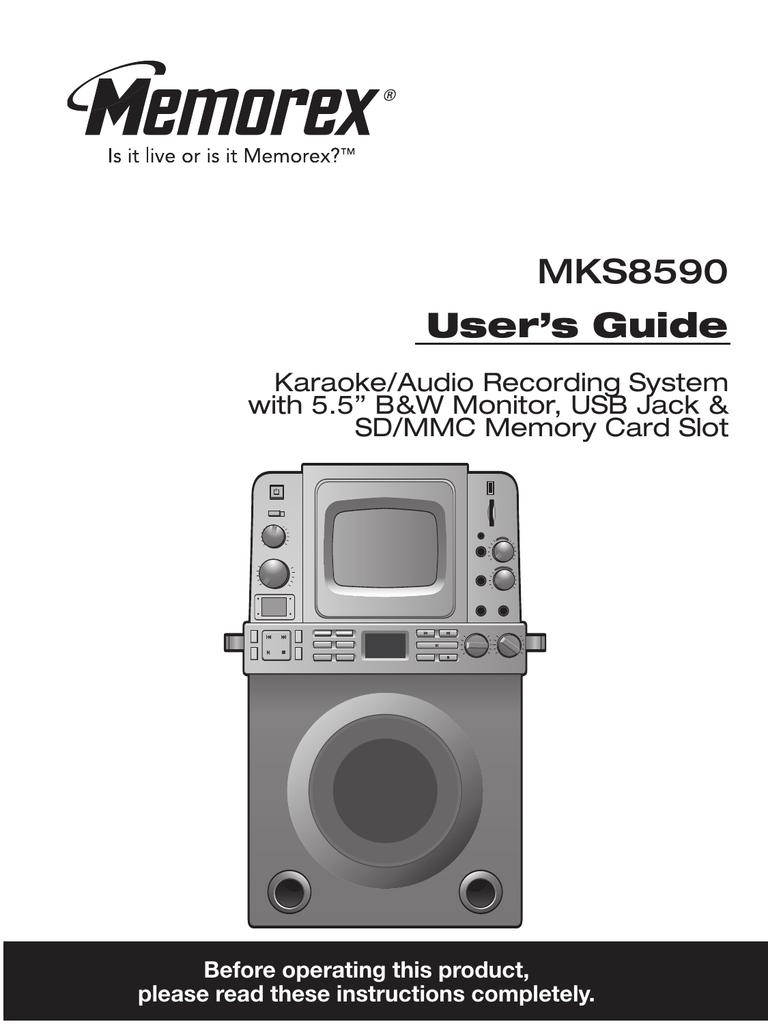 memorex mks8590 stereo system user manual manualzz com rh manualzz com Theater Words in Manual Theater Words in Manual