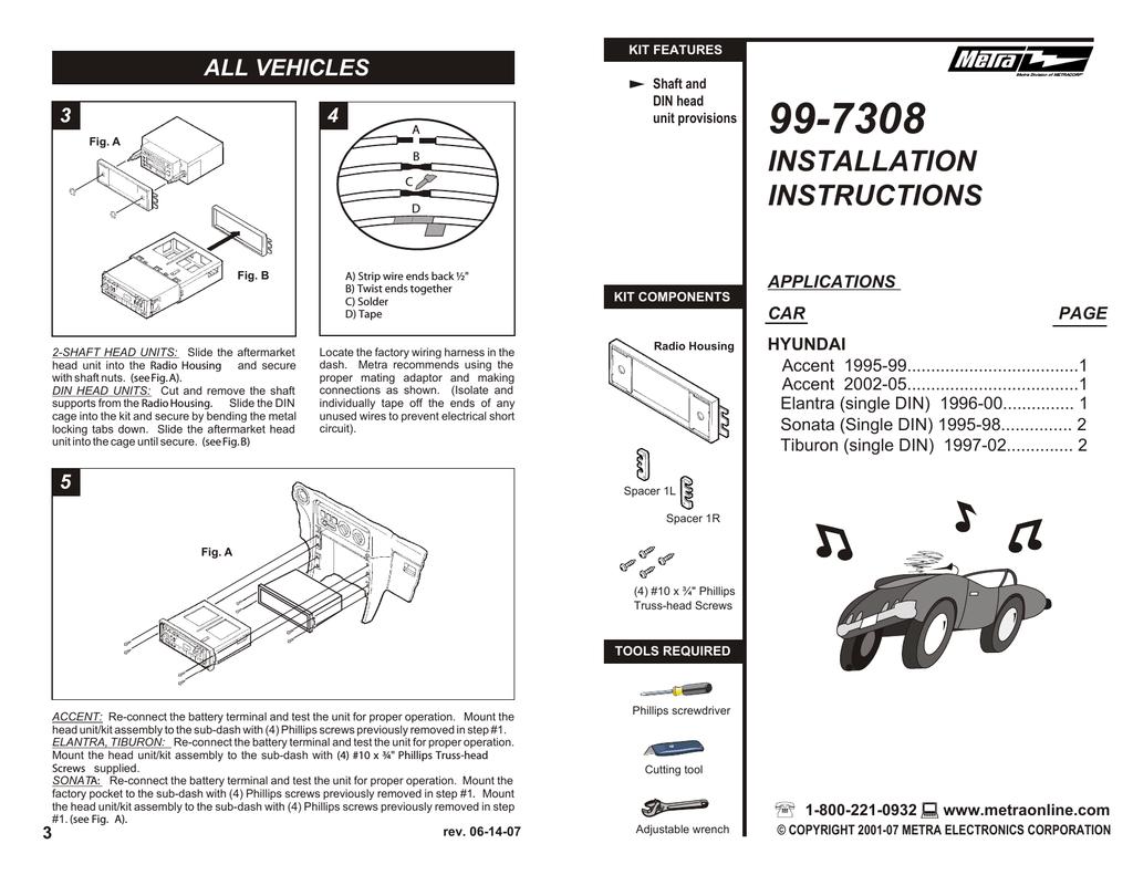 Wiring Diagram For Car Stereo Hyundai 1997 Hyundai Sonata Car Stereo