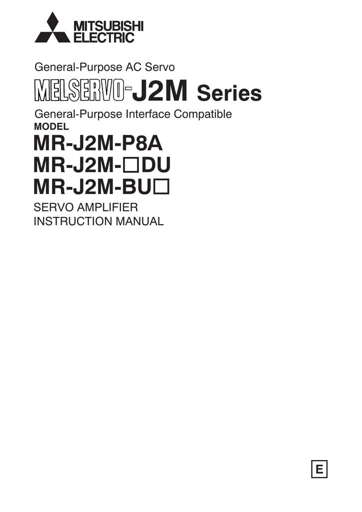 Used Mitsubishi servo drive MR-J2M-70DU In Good Condition