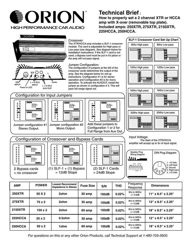 [QNCB_7524]  Orion Car Audio 2150XTR Car Stereo System User Manual | Manualzz | Orion Car Stereo Wiring Diagram |  | manualzz