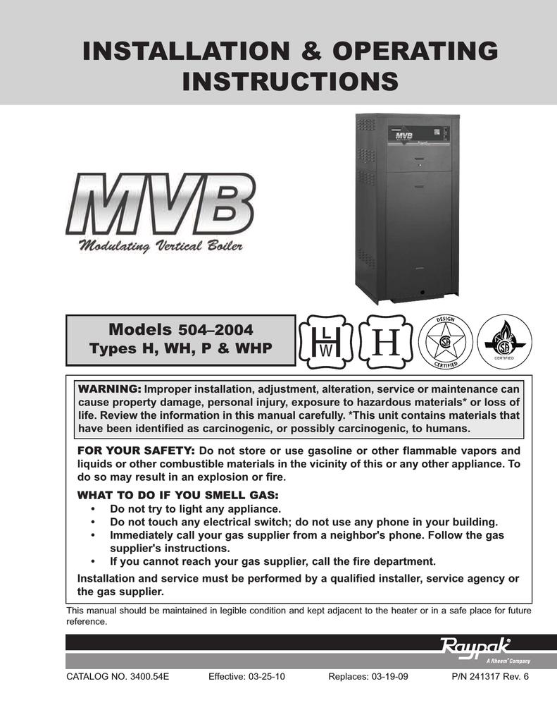 raypak boiler wiring diagram raypak 5042004 boiler user manual manualzz  raypak 5042004 boiler user manual