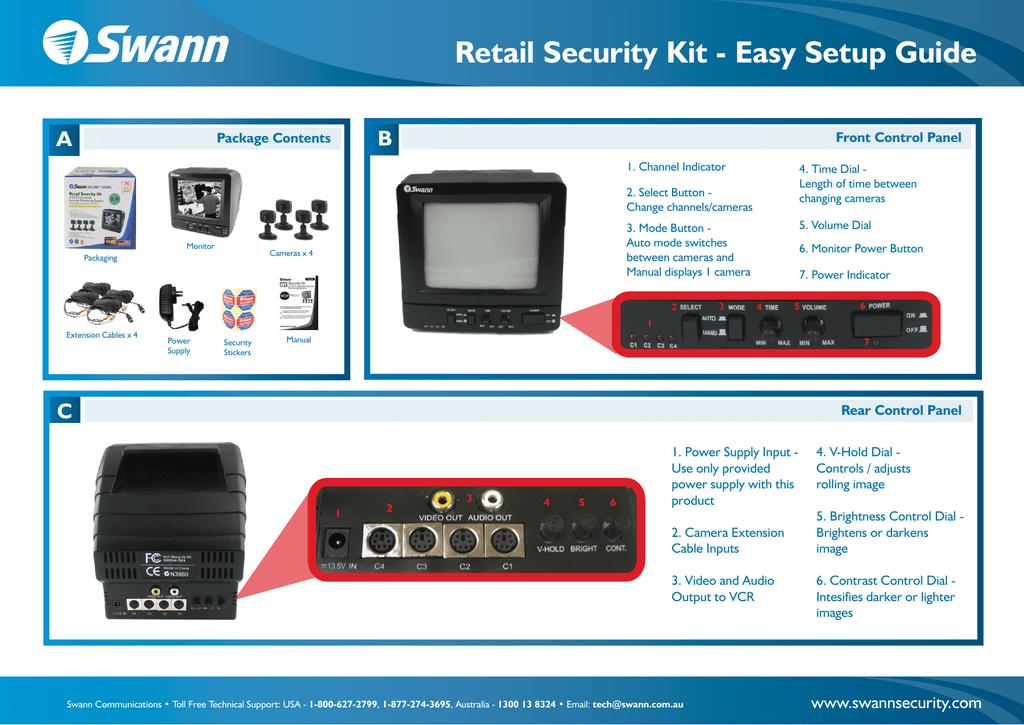 Swann Automobile Alarm Automobile Alarm User Manual