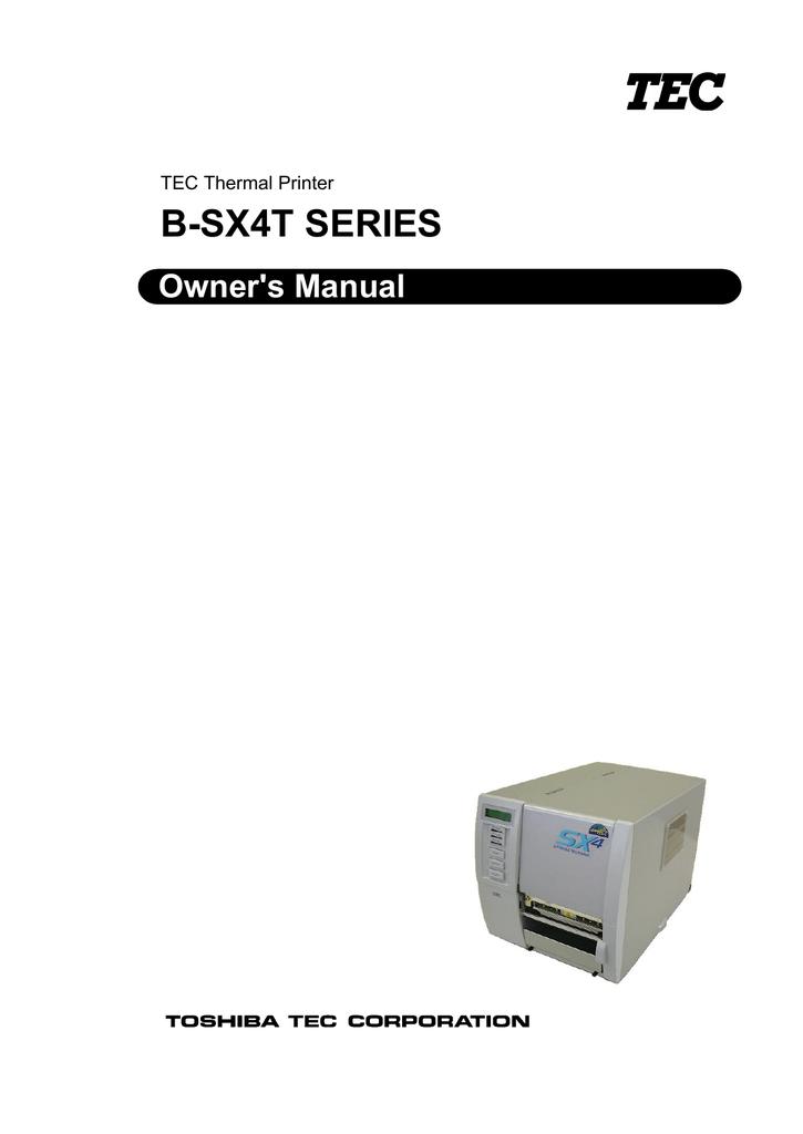 Toshiba B-SV4D-GS10-QM-R Thermal Barcode Label Printer USB Serial Para No Spool
