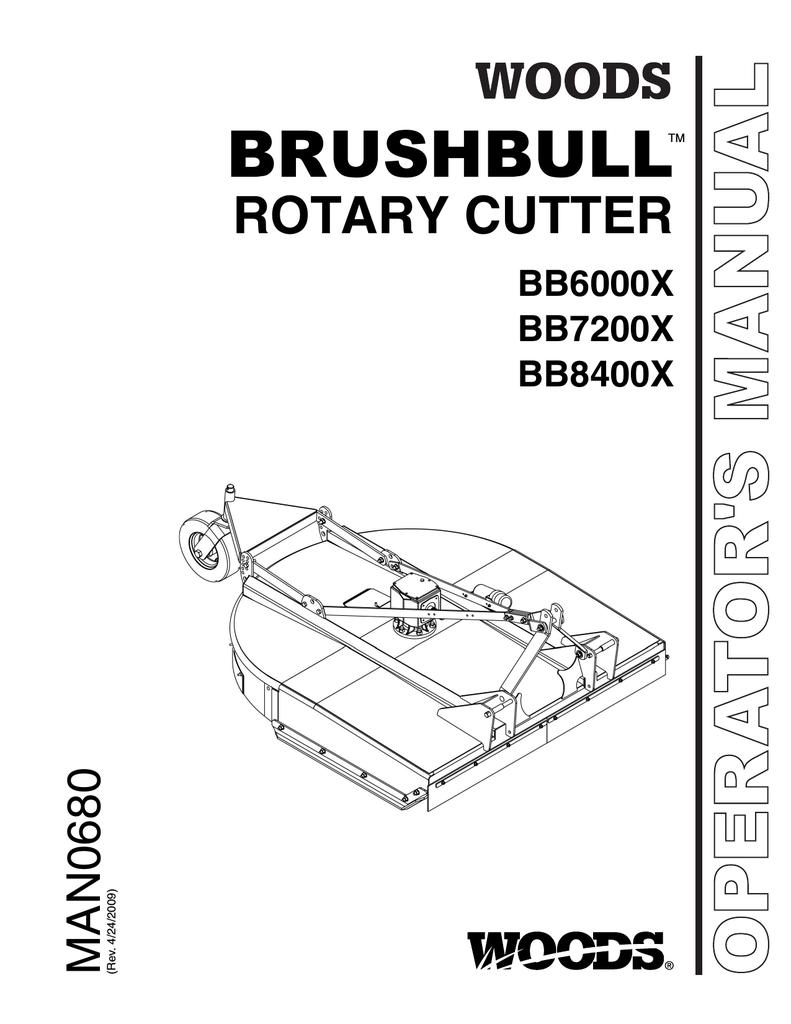 Woods Equipment BB8400X Brush Cutter User Manual | manualzz com