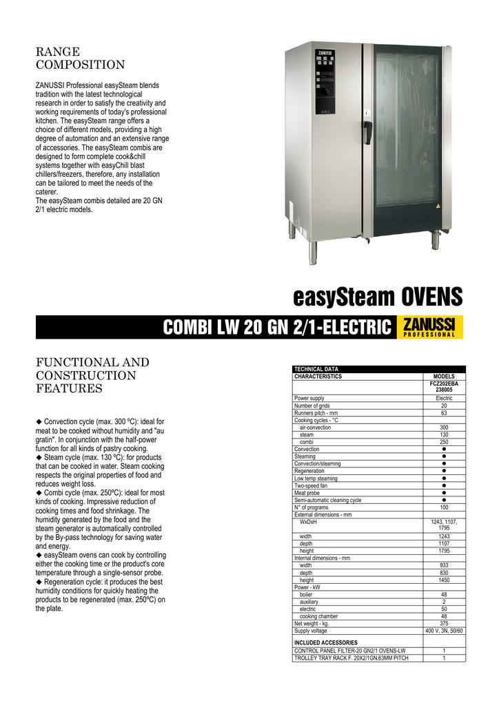 Zanussi Combi Oven Wiring Diagram
