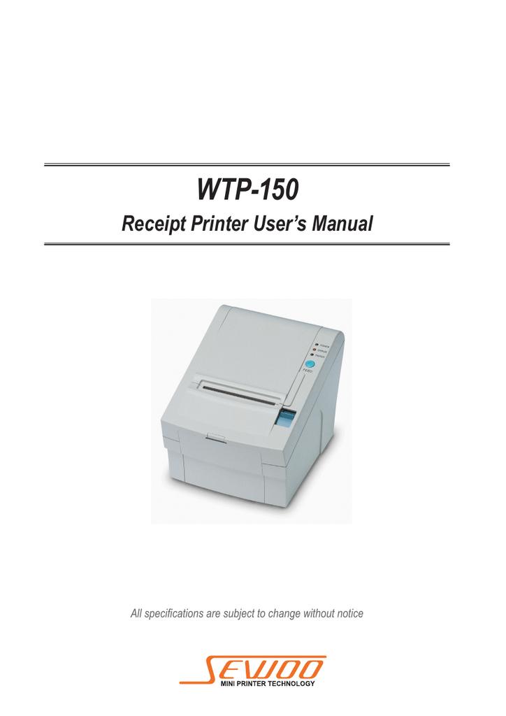 WTP-150 PRINTER WINDOWS 8.1 DRIVERS DOWNLOAD