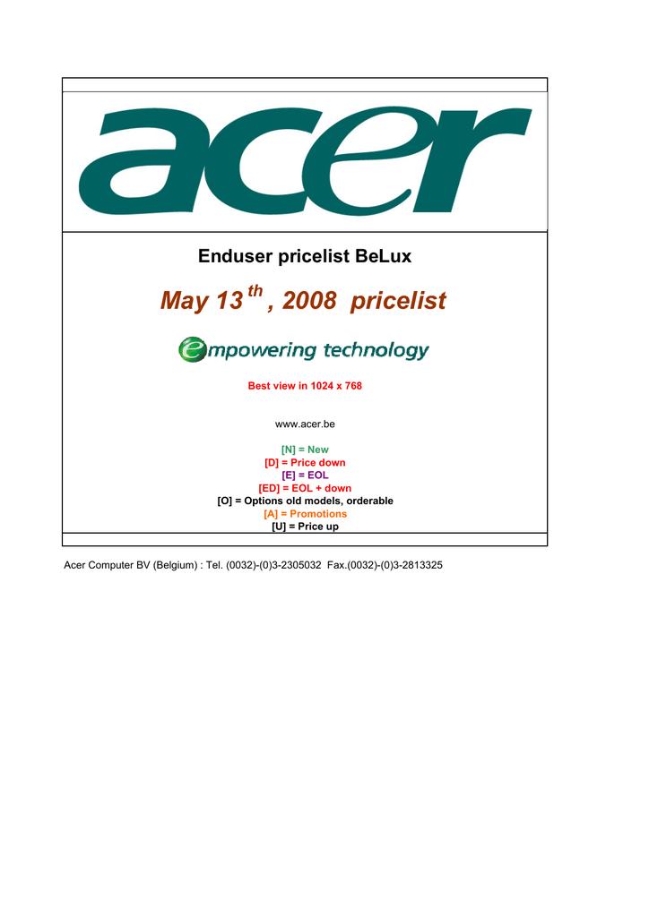 Acer Projector Lamp for PL111 | manualzz com