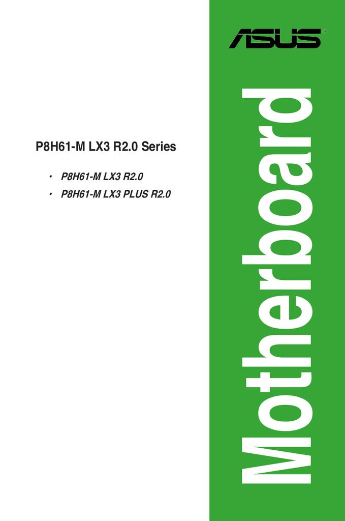 ASUS P8H61-M LK R2.0 REALTEK AUDIO DRIVER