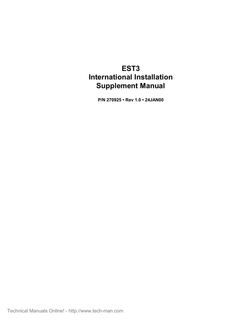 est3 international installation supplement manual manualzz com rh manualzz com