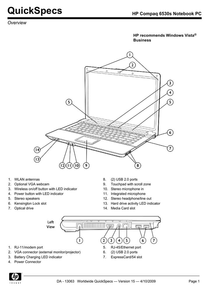 HP COMPAQ 6730S NOTEBOOK MARVELL YUKON LAN TREIBER WINDOWS XP
