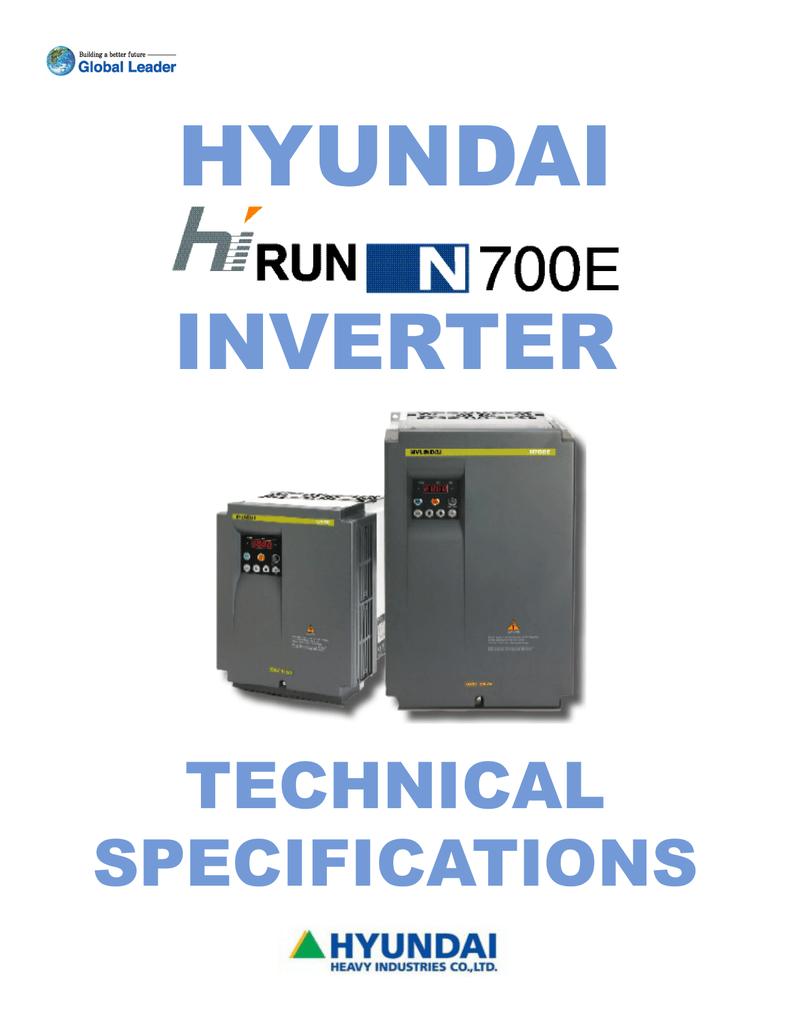 HYUNDAI N700E LOW VOLTAGE INVERTER N700E-022SFT2-H N700E022SFT2H 60days warrenty