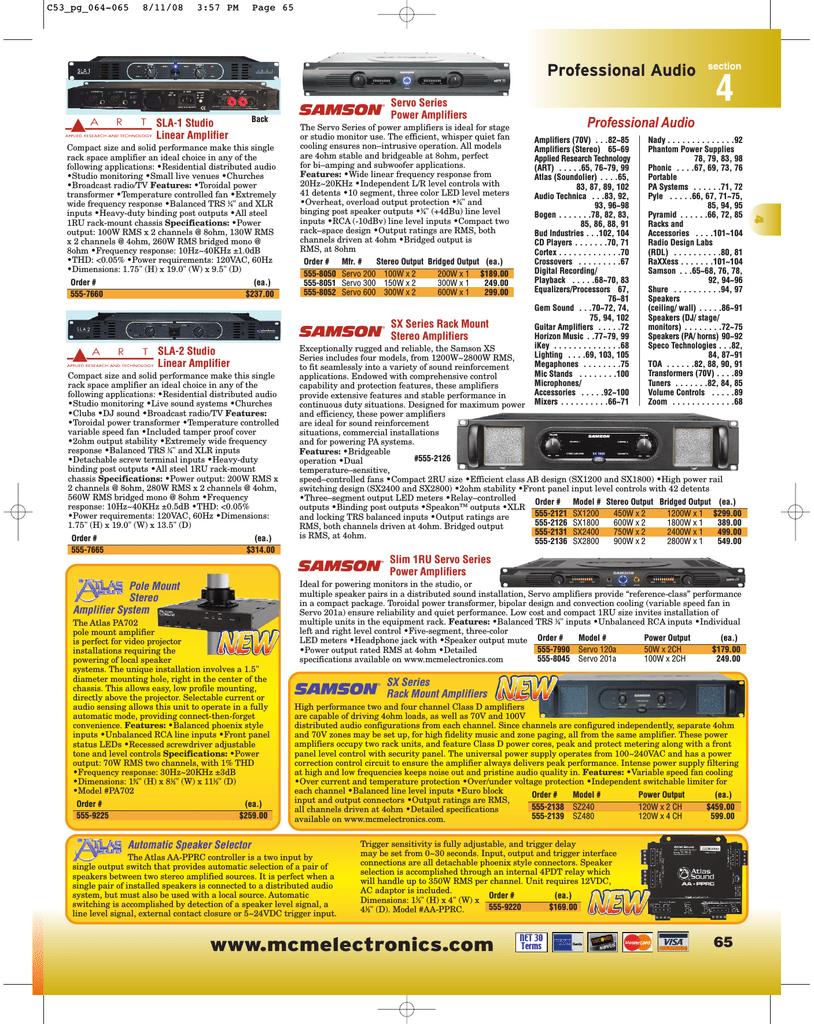 4 - MCM Electronics | manualzz com