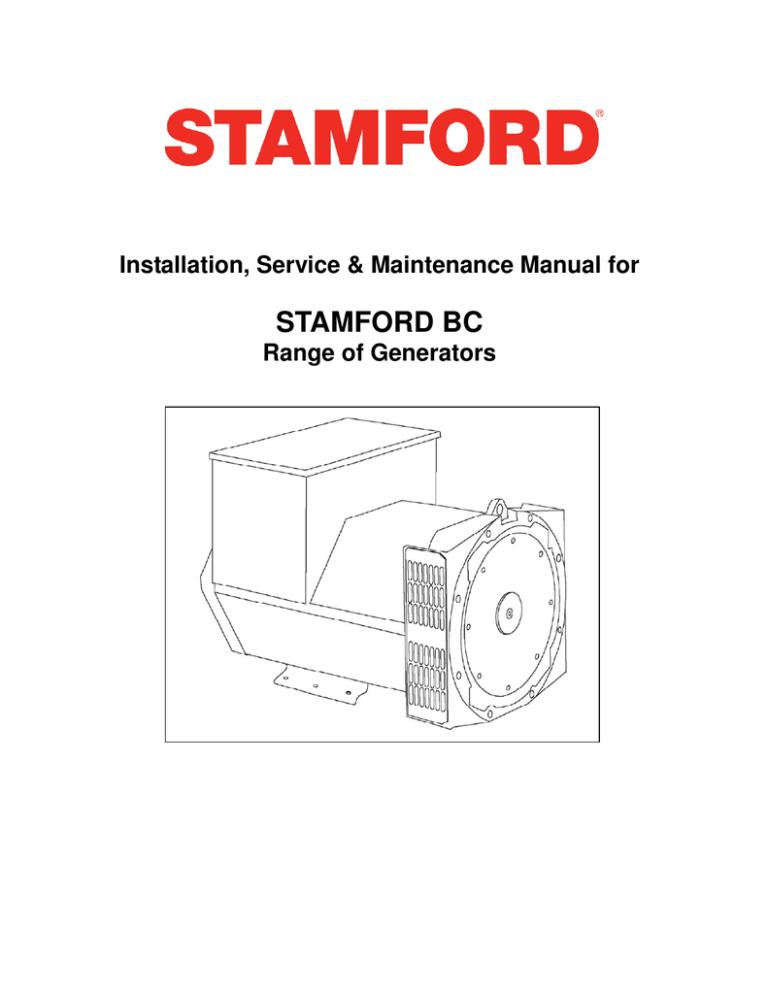 stamford bc - cummins generator technologies | manualzz  manualzz