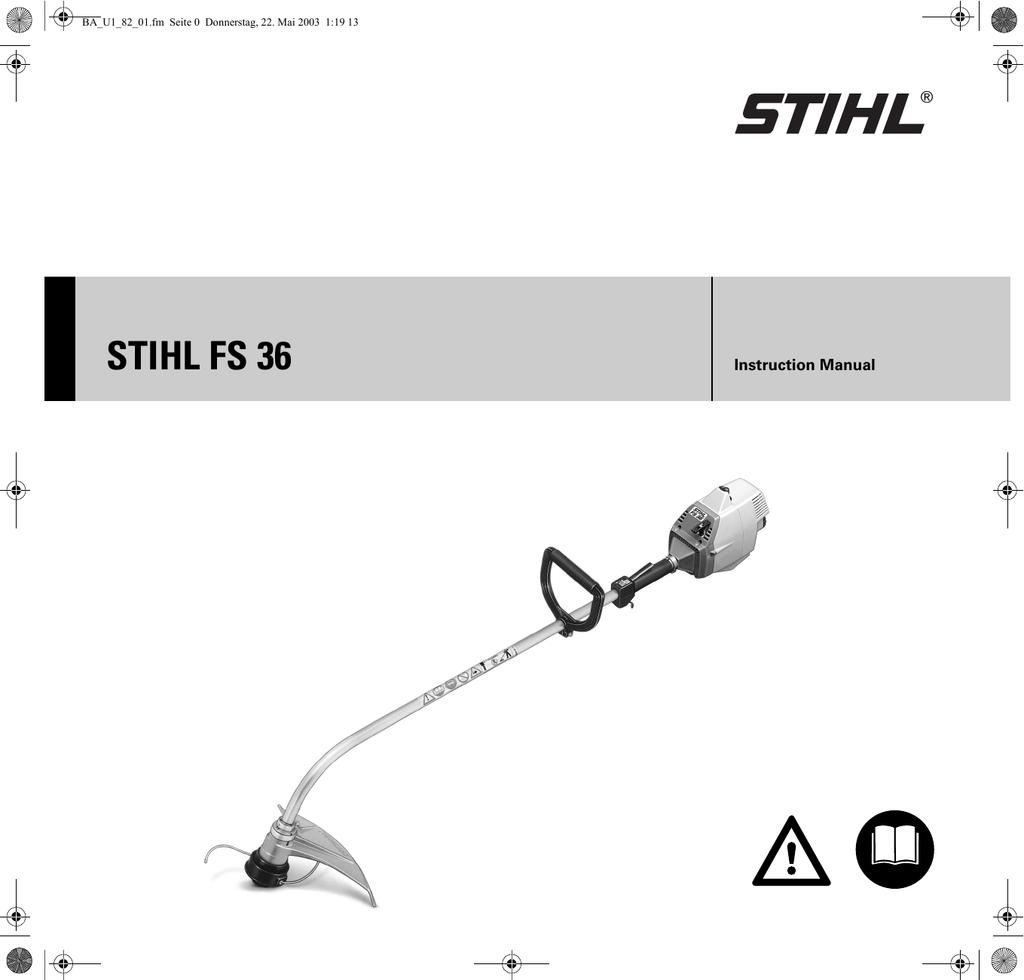 STIHL FS 36, 40 | manualzz com