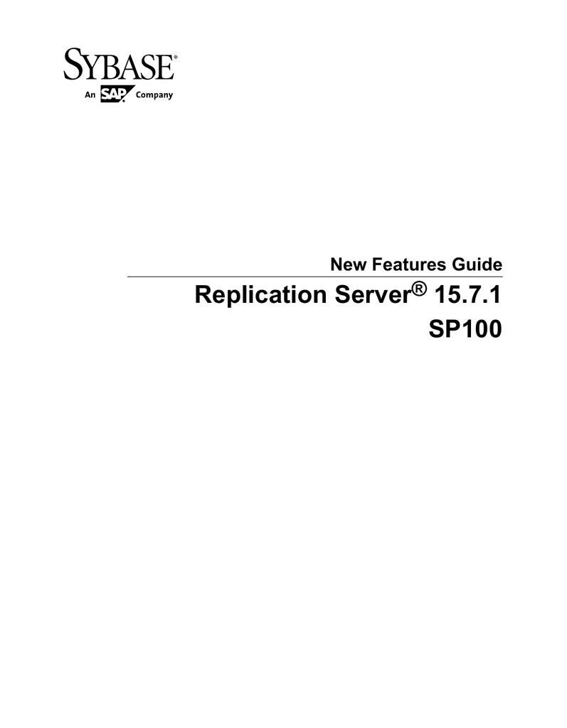 Sybase Manual Pdf