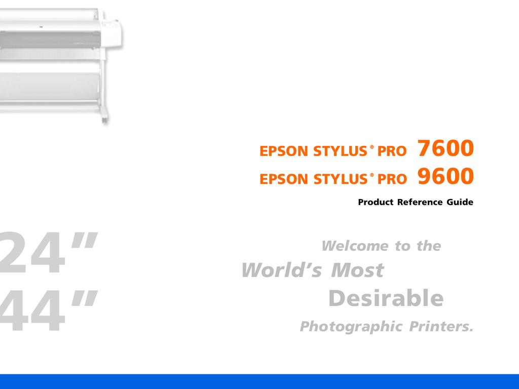 Epson Stylus Pro 7600 | manualzz com