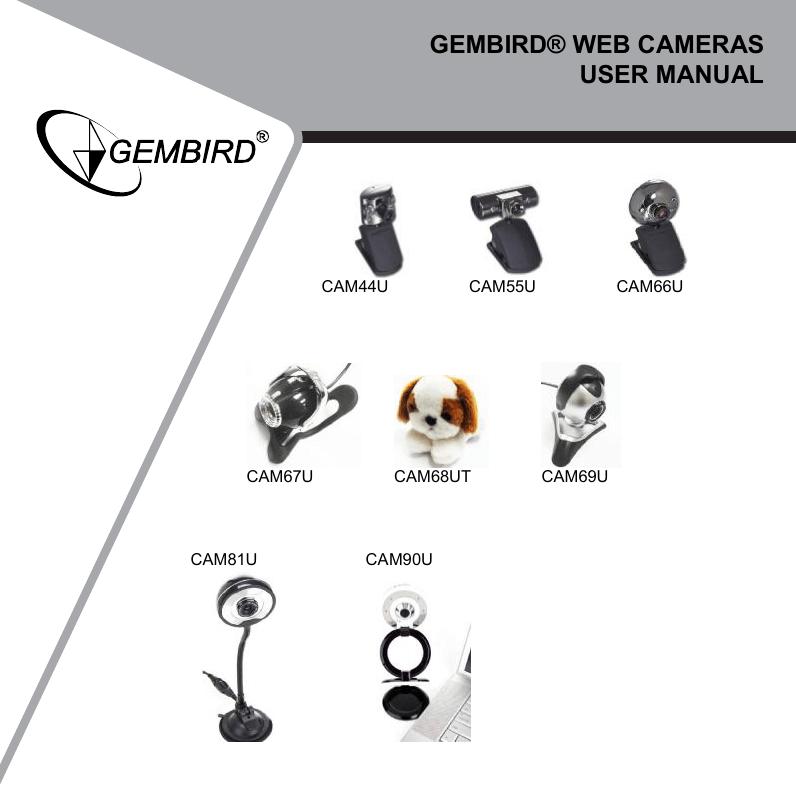 CAMERA WEB GEMBIRD CAM55U DRIVER FOR PC