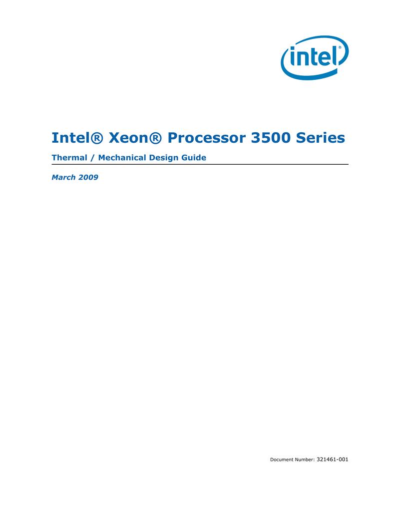 HP Intel Xeon W3550 | manualzz com