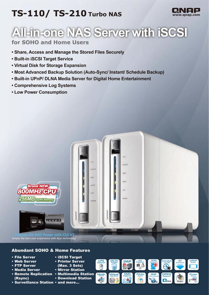 QNAP TS-210 | manualzz com