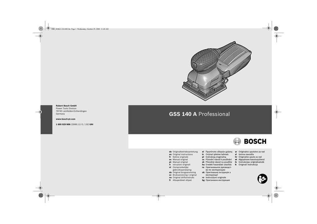 6 mm 60 40 mm 60 mm pack de 1 Bosch 2 609 200 183 Lijador de l/áminas