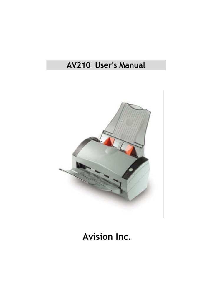 AVISION AV600U TREIBER