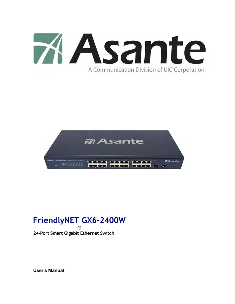 Asante IC39240 Driver for Windows
