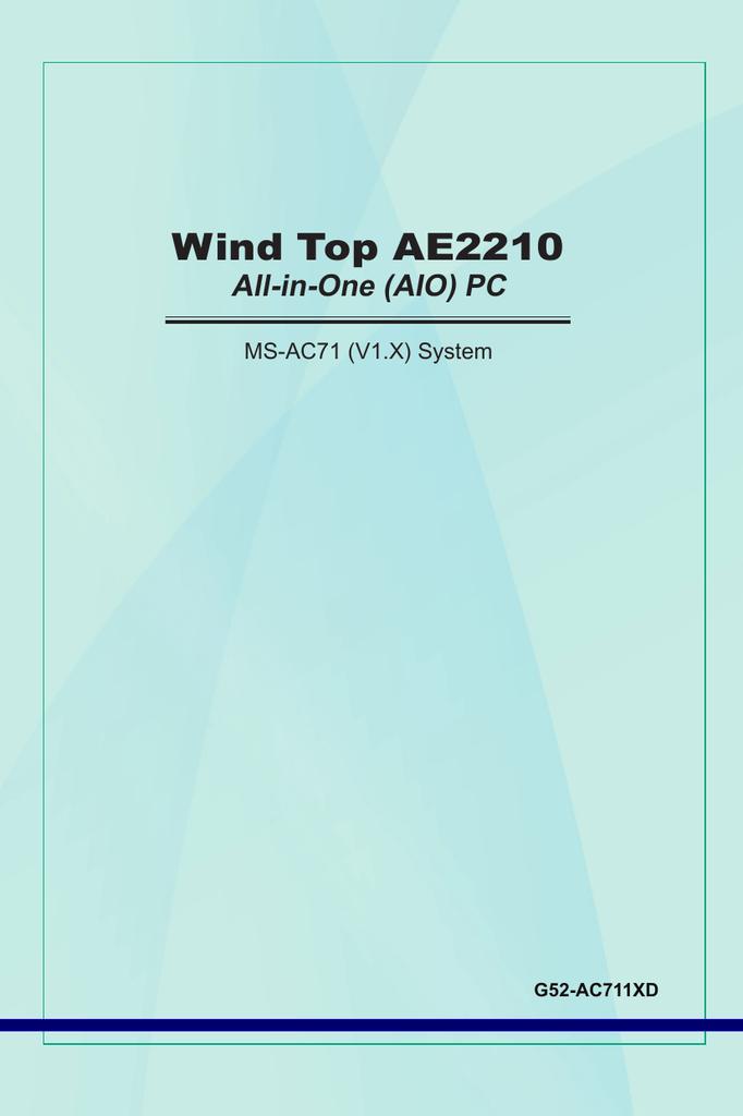 MSI WIND TOP AE2210 CARD READER WINDOWS 7 64BIT DRIVER DOWNLOAD