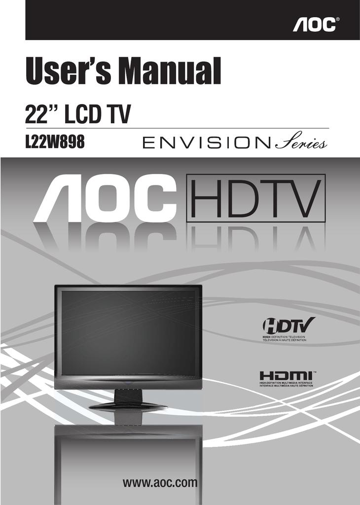 AOC L22W898 DRIVERS FOR WINDOWS XP