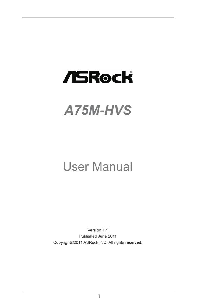ASROCK A75M-HVS AMD ALL-IN-ONE WINDOWS 8 DRIVER