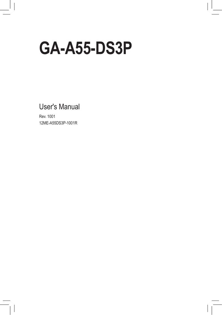 Gigabyte GA-A55-DS3P Microsoft UAA Driver