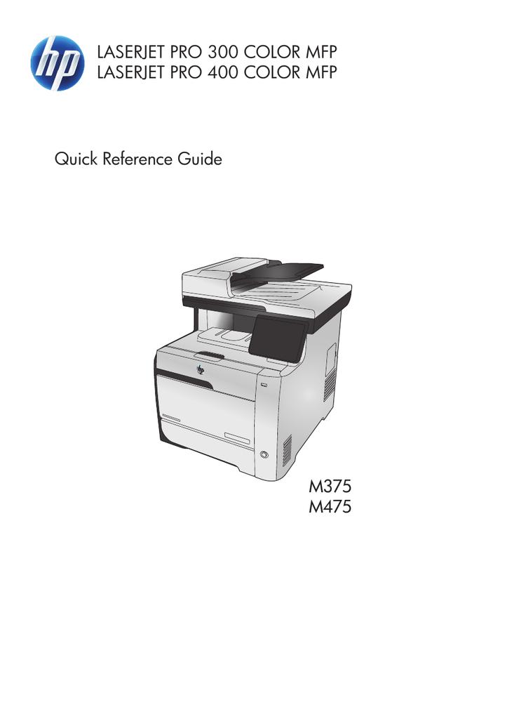 HP LaserJet M451dn | manualzz com