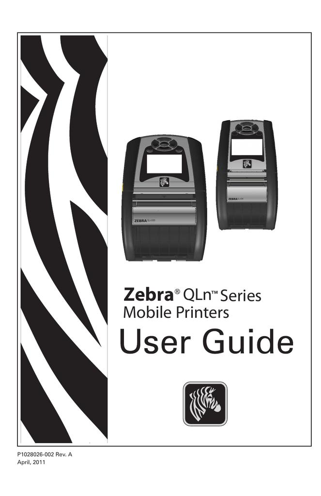 Zebra QLn220 | manualzz com