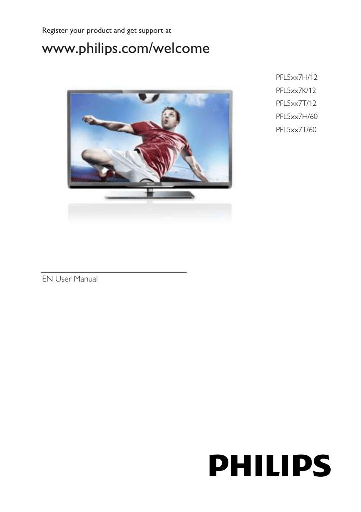 Philips 5500 series Smart LED TV 55PFL5507K | manualzz com