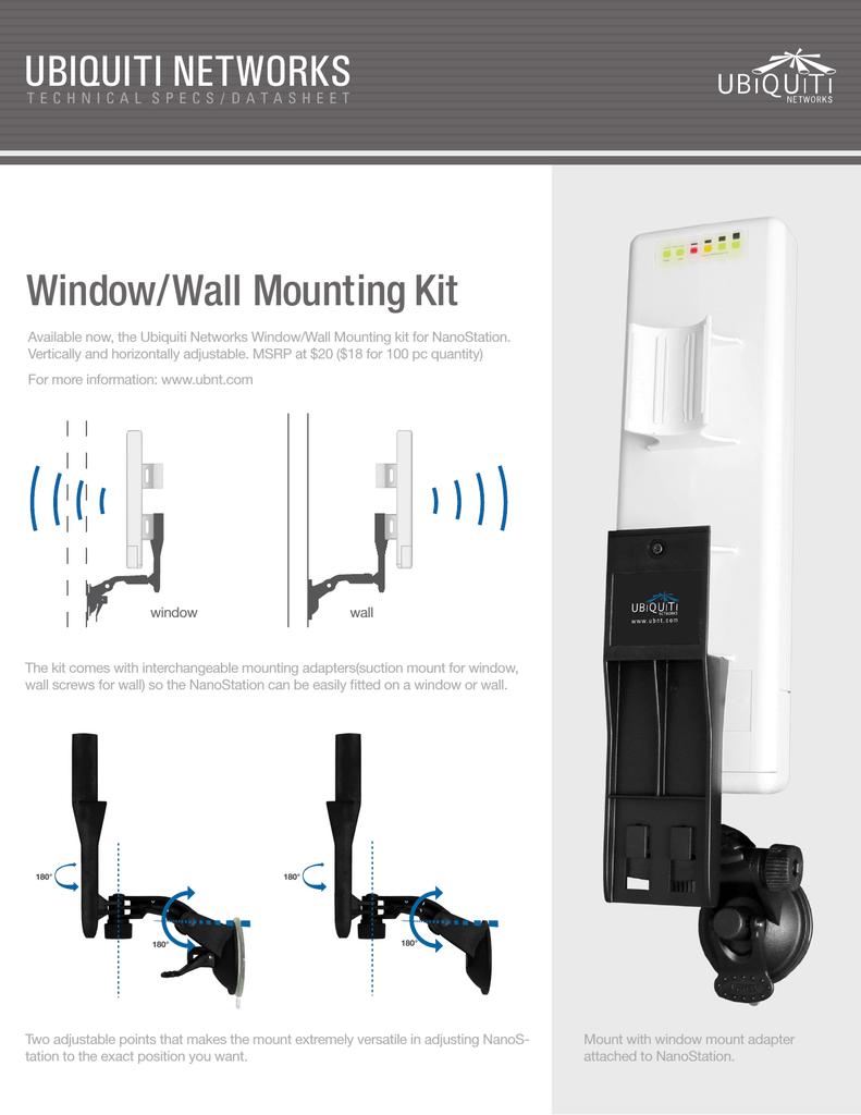 Ubiquiti Networks NS-WM mounting kit   manualzz com
