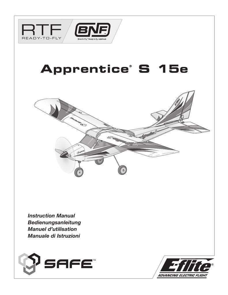 8 E-flite Rubber Bands Apprentice 15e EFL2738