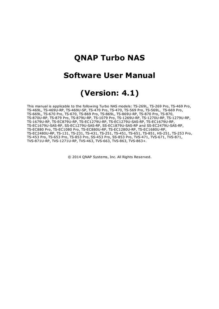 QNAP TS-251 | manualzz com
