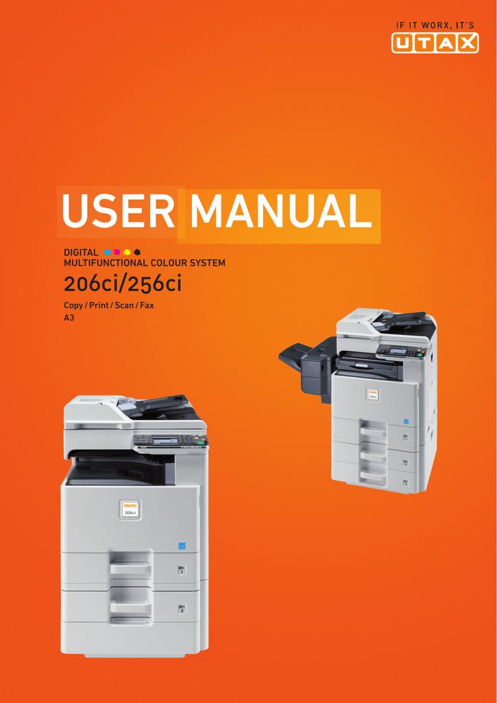 UTAX 206ci | manualzz com