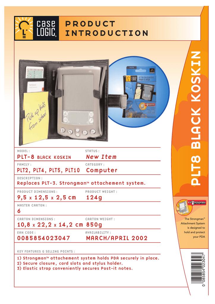 bd4d3aa50b38d Case Logic Strongman PDA Case - Black