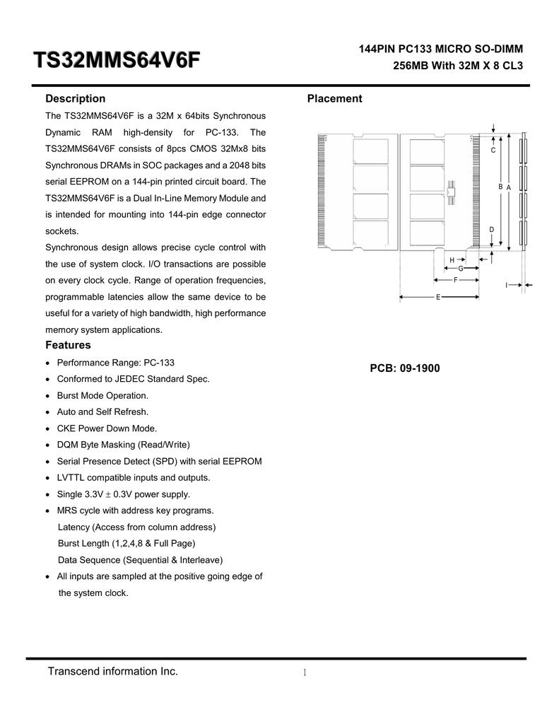 128MB SDRAM MEMORY RAM PC100 NON-ECC 8NS DIMM 168-PIN