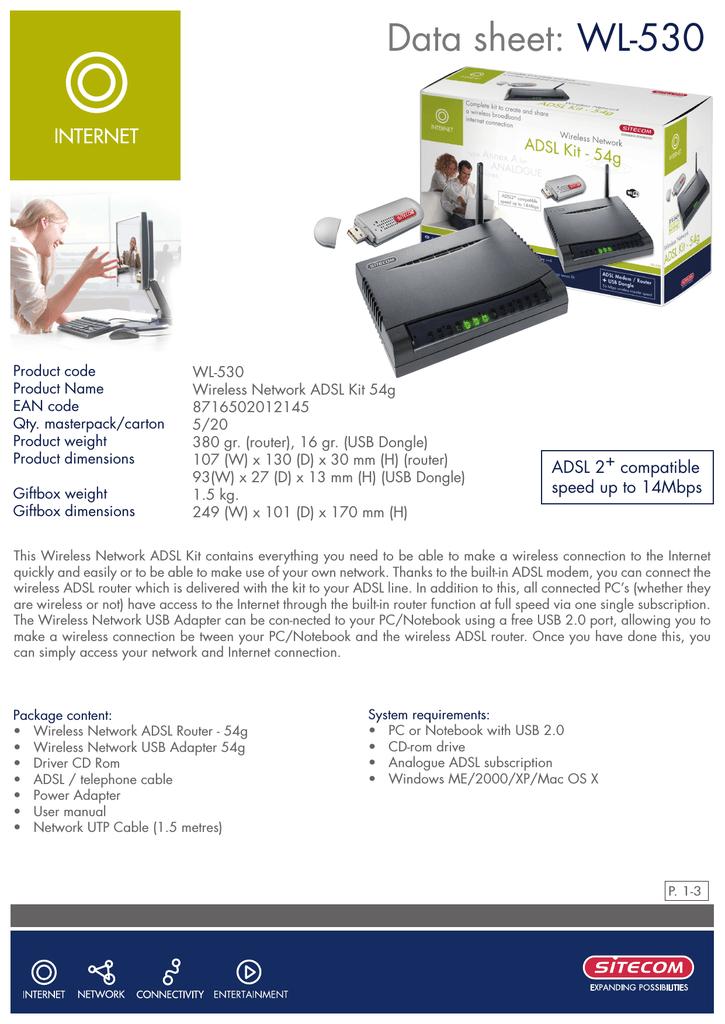 Sitecom wl-108 manuals.