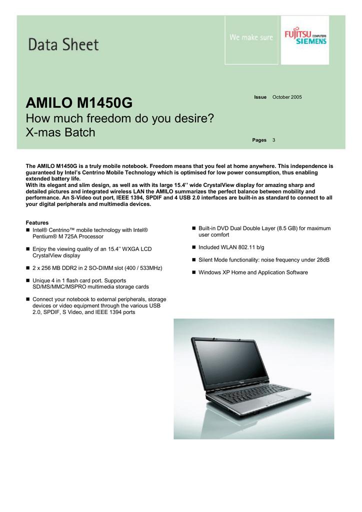 AMILO A3667G WIRELESS 64BIT DRIVER