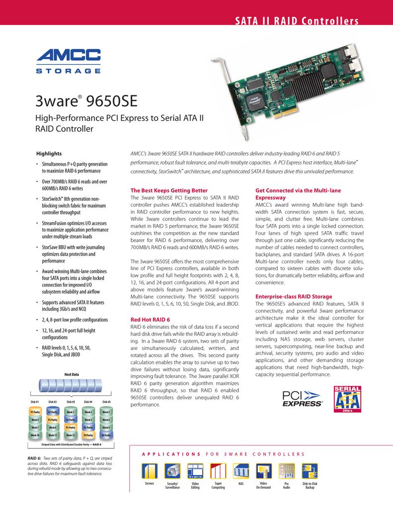 LSI Serial ATA II RAID Controller 4 Port | manualzz com
