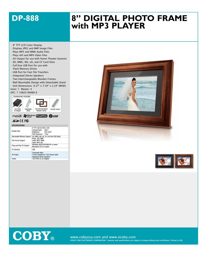 coby 8 4 3 digital photo frame rh manualzz com