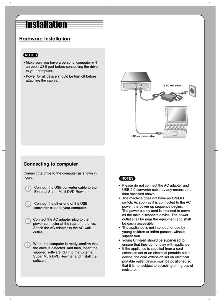 LG GSA-E40L USB DRIVERS WINDOWS 7 (2019)