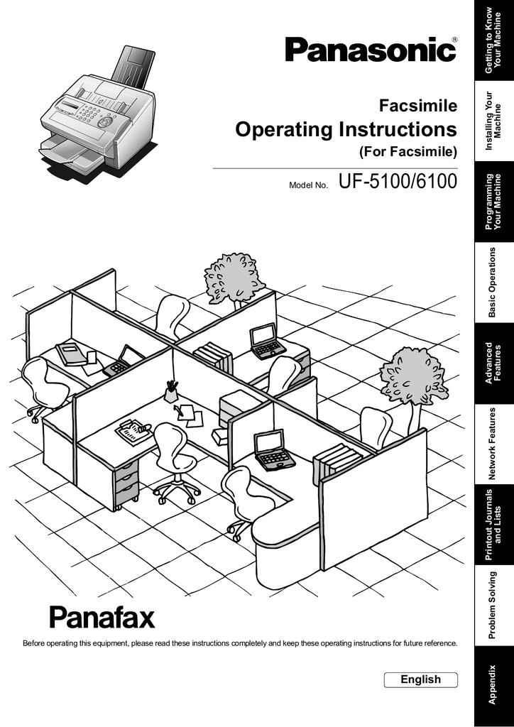 Panasonic Dp-8020E Инструкция