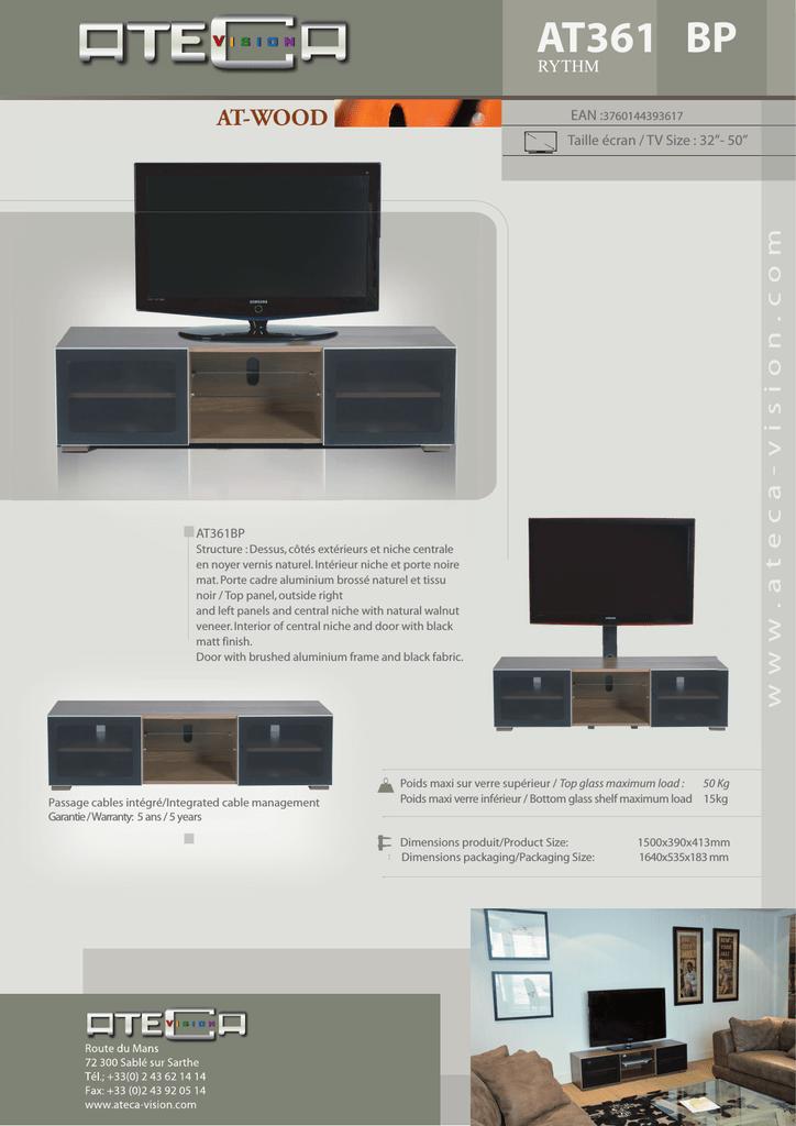 Ateca At361bp361 Flat Panel Floorstand Manualzzcom