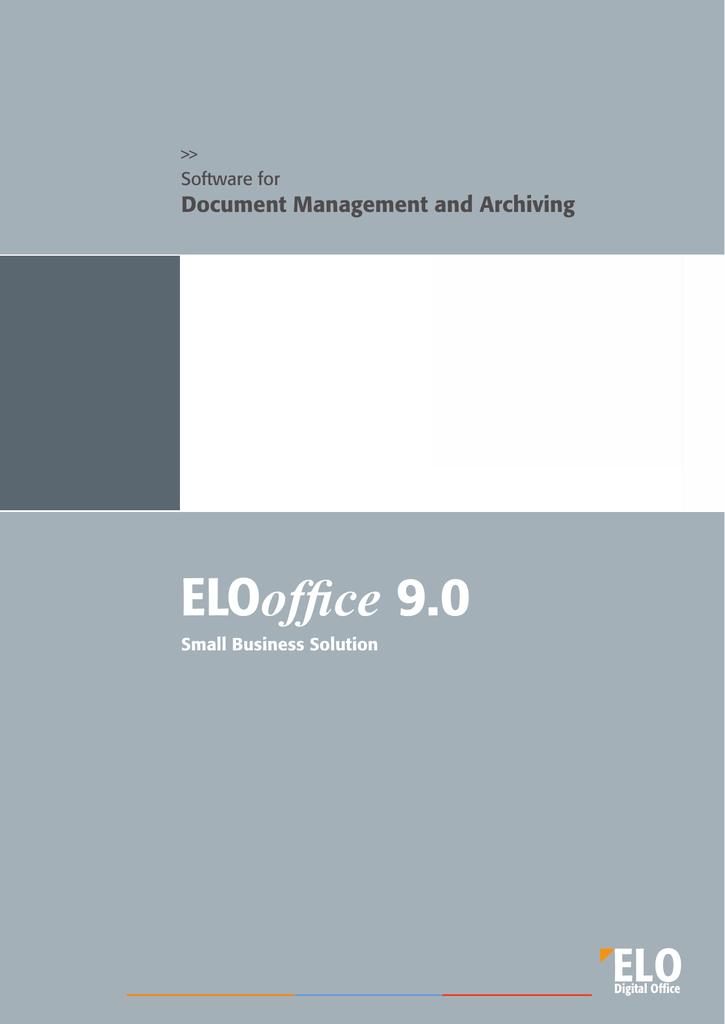 Elo Digital Office Elo Office 9 0 1u Sceye Manualzz