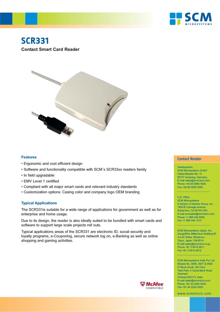 SCR331 DI USB SMART CARD READER WINDOWS 8.1 DRIVERS DOWNLOAD