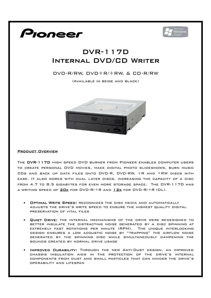 PIONEER DVR-2910 DVDCD WRITER DRIVERS DOWNLOAD FREE